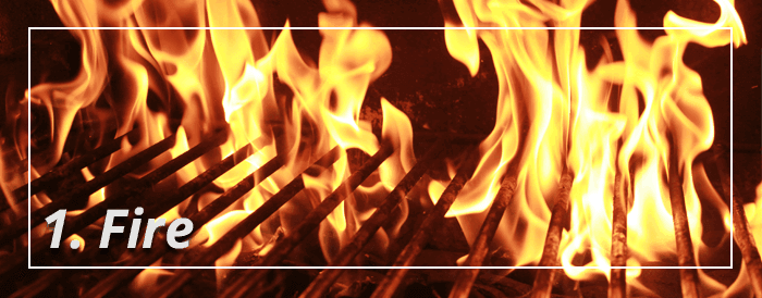 Fire Grill Safety Tips