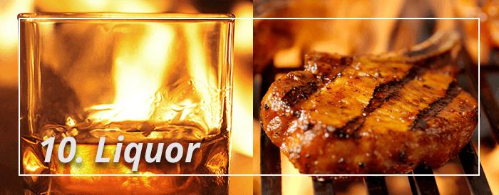 Liquor and Barbecue Smoke Instruction
