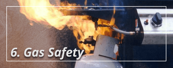 Grill Gas Safety Suggestion