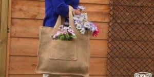 how to make a hessian bag