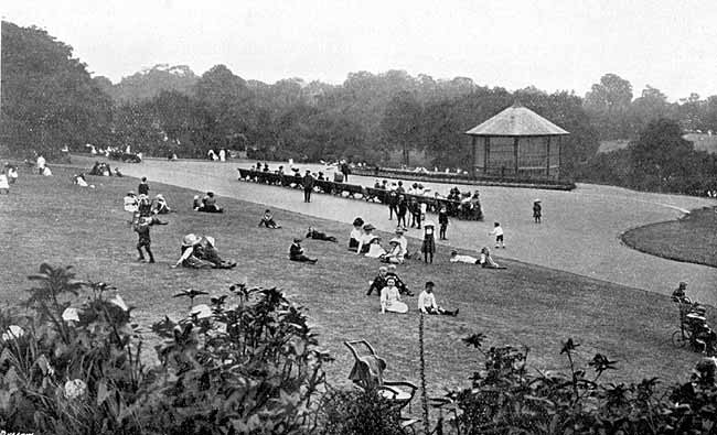 The Arboretum. Image from Notts History
