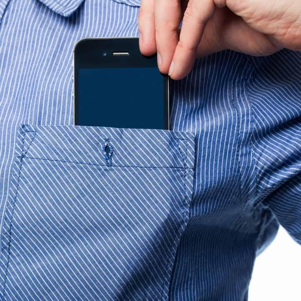 iPhone 6 pocket