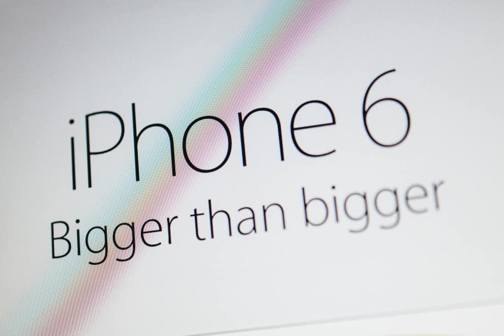 bending iphone 6